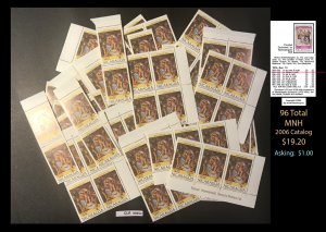 Nicaragua Dealer's Lot ~ Sct. 955 ~ 96 tot  ~ CLR90552