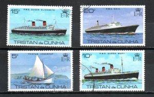 Tristan da Cunha 255-258 used