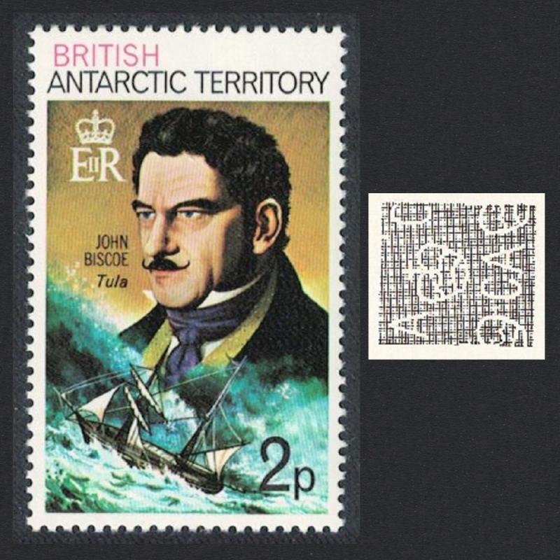 BAT Polar Explorer John Biscoe and 'Tula' 2p 1973 MNH SG#47