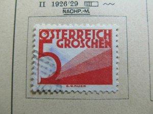 Osterreich Austria Postage Due 1925-34 5 Fine MH* A5P26F95