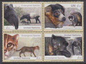 UN New York 1077a Animals MNH VF