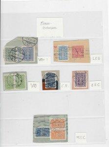 austria stamps on piece ref 12199