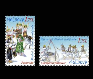 Moldova 2013 Traditional Rituals and Customs 2 MNH stamps