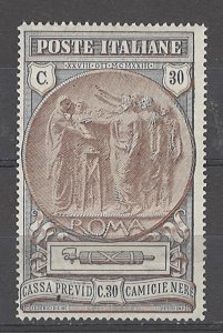 COLLECTION LOT # 4988 ITALY #B17 MH 1923 CV+$32