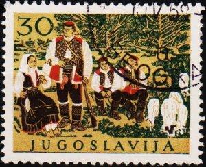 Yugoslavia. 1957 30d S.G.862 Fine Used