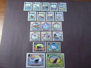 GUERNSEY # 640-663--MINT/NEVER HINGED---COMPLETE SET---1998-2000