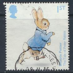 Great Britain SG 3856 Used  Anniversary of Birth of Beatrix Potter   SC# 3521