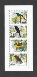 BIRDS  MAYOTTE #181  MNH