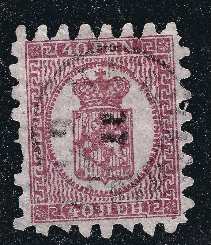 Finland Attractive Roulette II Scott 10b F-VF light Cancel Cat $92.50+
