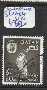 QATAR (PP1002B) REVALUED SHEIKH SG 146    VFU