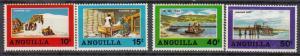 Anguilla - 1969 Salt Industry Sc# 49/52 - MNH (455N)