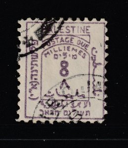 Palestine (British) an old used Post Due