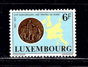 Luxemburg 606 MH 1977 issue