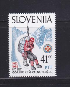 Slovenia 140 Set MNH Mountain Rescue Service