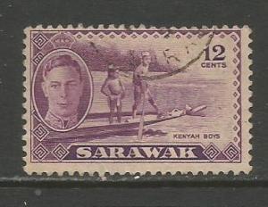 Sarawak   #187  Used  (1950)  c.v. $1.75