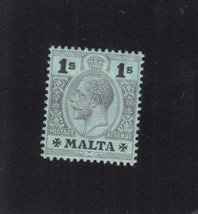 Malta: Sc #59, MH, Hinge Rem. (35493)