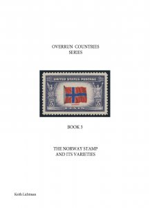 The Norway Stamp & It's Varieties, Scott's 911, Spiral bound, 80 color pages