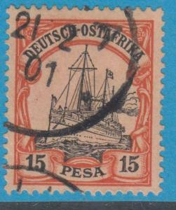 GERMAN EAST AFRICA 15 USED  NO FAULTS EXTRA FINE !