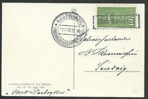 DENMARK 1938 postcard Copenhagen commem cancel.............................61233