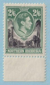 NORTHERN RHODESIA 41  MINT VERY LIGHTLY HINGED OG ** NO FAULTS EXTRA FINE!