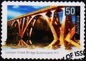 Australia. 2004 50c S.G.2358 (Self Adhesive) Fine Used