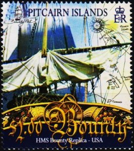 Pitcairn Islands. 2007 $2 Fine Used