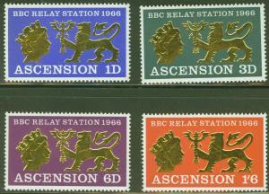 ASCENSION  Scott 111-114 BBC Communication set MNH**