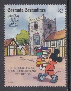 Grenada Grenadines 1180 Disney's MNH VF