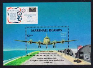 Marshall Is. Douglas C-54 Globester MS SG#MS79 SC#114