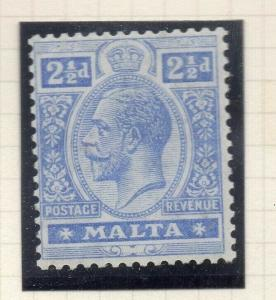 Malta 1921-22 Early Issue Fine Mint Hinged 2.5d. 321527