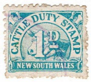 (I.B) Australia - NSW Revenue : Cattle Duty 1d