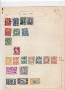 Bolivia Stamps Ref 15032