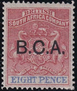 British Central Africa 1891-1895 SC 6 MLH