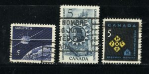 Can #445-47   u   VF 1966 PD