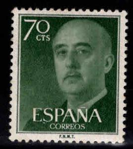 SPAIN Scott 823 MH* Franco stamp