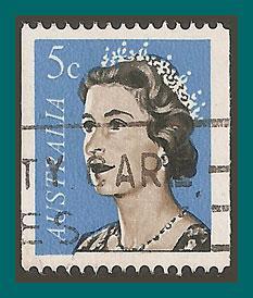 Australia 1967 Queen Elizabeth II, used  420,SG405a