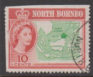 North Borneo Sc#284 Used Faults