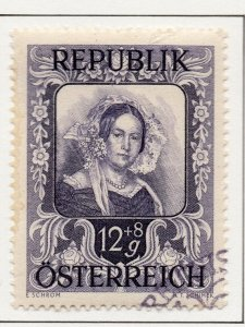 Austria 1947 Issue Fine Used 12g. [SKU]]