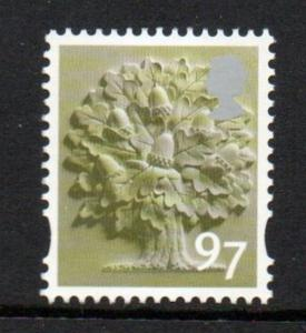 Great Britain England Sc 29 2014 97p Oak Tree  stamp mint NH