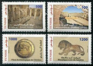 HERRICKSTAMP NEW ISSUES TUNISIA Archaeological Sites & Monuments