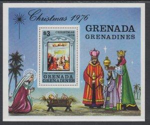 Grenada Grenadines 204 Christmas Souvenir Sheet MNH VF