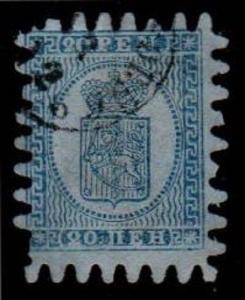 Finland Scott 9 Used (Catalog Value $67.50)