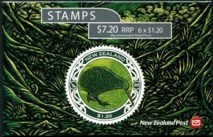 HERRICKSTAMP NEW ISSUES NEW ZEALAND Sc.# 2806a Kiwi Bird Booklet