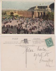 Postcard - 1907 Canadian National Exhibition Card Showing Manufacturers Building