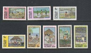 Tokelau #49-56 comp mnh cv $3.25
