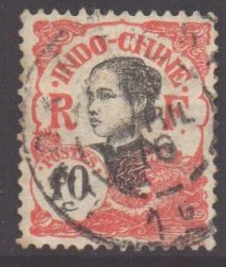 Indo-China SG55, 1907 Annamite 10c used