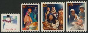 Canada 2124ii-7i MNH Christmas Creches, Snowman, Art