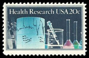 2087 20c Health Research, Mint NH OG  VF