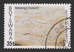 BOTSWANA STAMP 1977 SCOTT # 192. USED.