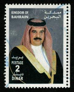 Bahrain, 2 Dinar, 2002, Shaikh Hamad Bin Isa Al-Khalifa (T-5844)